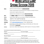 Webo Speed Camp Spring Session 2019