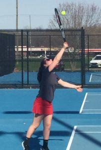 JH Girl's Tennis 18-19