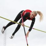 Huckstep qualifies for state in pole vault