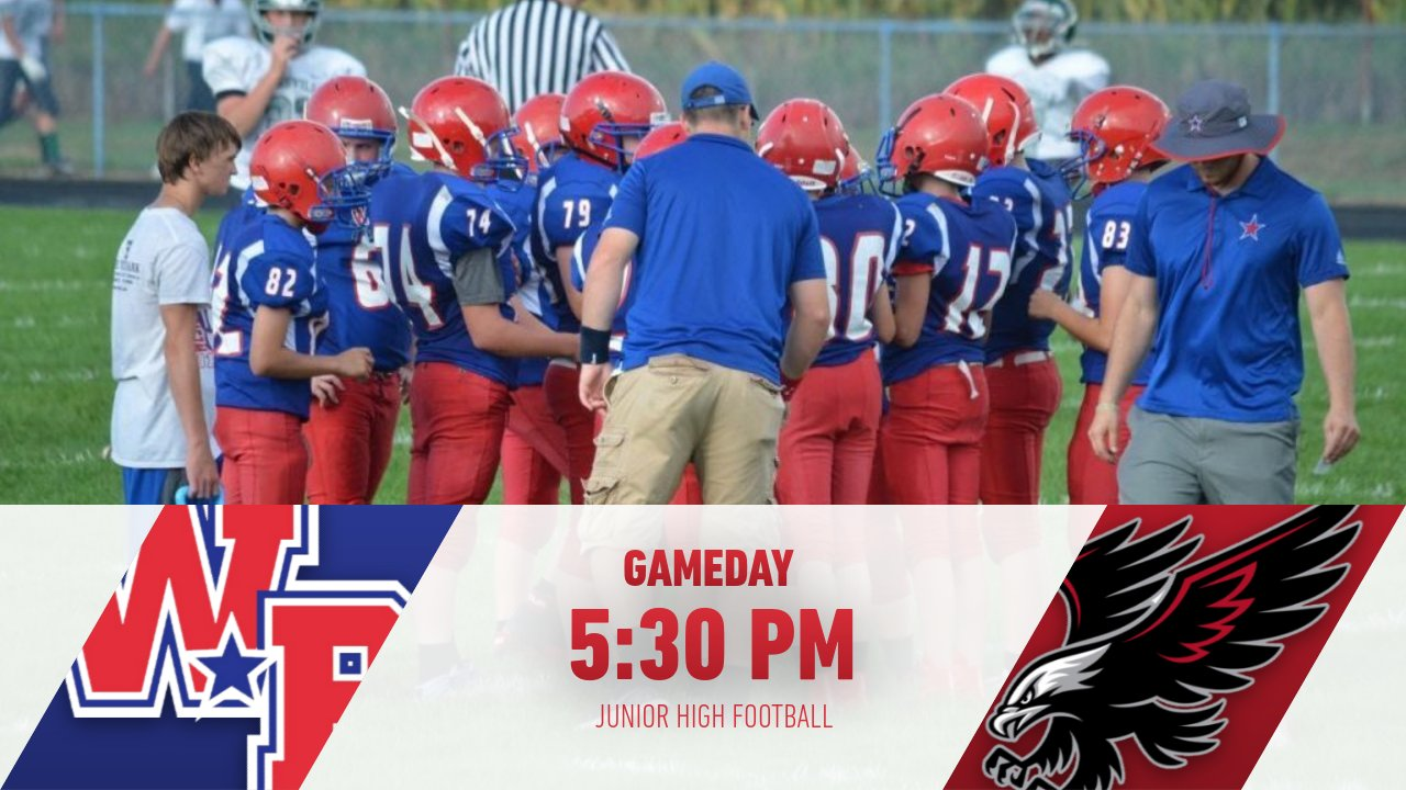 Reminder: Junior High Football AT Sheridan Tonight – Western Boone All Sport Passes WILL be accepted