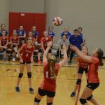 Stars fall to Cougars in straight sets