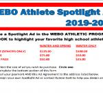Webo Athlete Spotlight Advertisement – Winter 2019-20