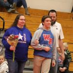 Stars come away with senior night win