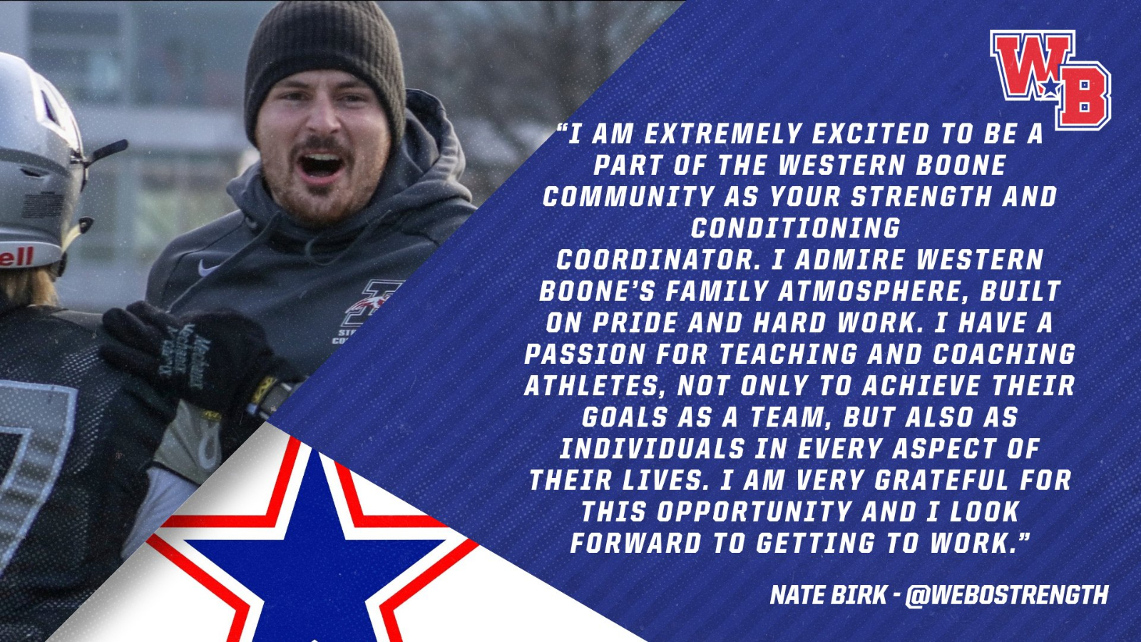 Nate Birk – New Strength and Conditioning Coordinator
