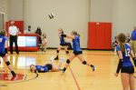 8th Volleyball defeats Crawfordsville