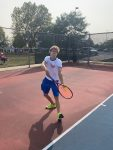 Stars Tennis team drops close match to the Hornets of Rossville