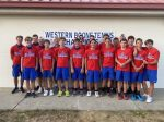The Varsity Boy's Tennis team secures back to back Conference Titles with win over North Montgomery