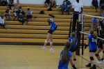 Stars defeat Tigers in Junior High Volleyball