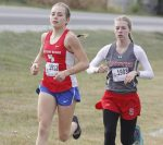 Knoper competes in Semi-State Cross Country Meet