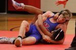 Wrestlers overwhelm Hotdogs, but can't overcome forfeits