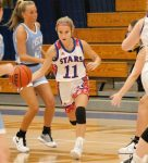The Lady Stars show improvement, but fall to Mounties 46-40