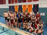 Conference Swim Meet:  Girls place 2nd; Boys place 5th