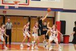 JV Stars basketball team defeats the Gophers of Clinton Prairie