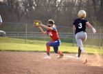 The JH Softball teams split with Tri-West in season opener