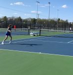Stars defeat Tigers in Jr. High Tennis