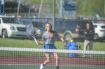 JH girls tennis team wins close match vs. Frankfort