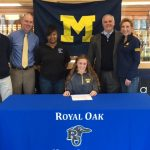 ROHS Senior Student-Athlete Grace Cutler signs with University of Michigan!
