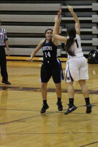 Varsity Girls Basketball vs. WLN 11-28-16