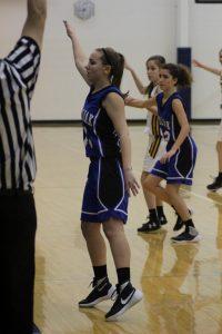 JV Girls Basketball vs. Shrine 12-2-16