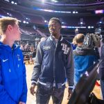ROHS Boy's Basketball spends some time with the Detroit Pistons