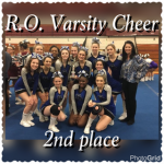 ROHS Competitive Cheer takes 2nd at Hazel Park Competition