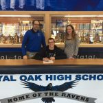 Royal Oak HS Football Senior Zarek Ray signs with University of Mount Union!