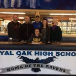 Royal Oak Tennis Senior Ivona Gorgioski signs with Michigan Tech!