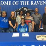 Royal Oak Track Senior Kira Harris signs with Siena Heights!