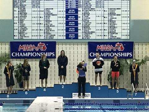 Raven Elite: Swimmer Julia Boswell 200 IM State Champion!