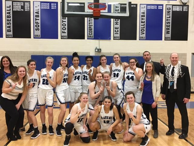 ROHS Varsity Girls Basketball: OAA White League Champions!