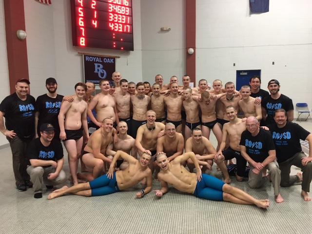 ROHS Boys Varsity Swim: OAA League and Tournament Champions!