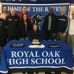Royal Oak Basketball Senior Nila Coney signs with Macomb Community College!