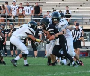 Monticello JV Football at Turner Ashby