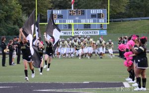 Monticello Varsity Football vs. Charlottesville (Homecoming)