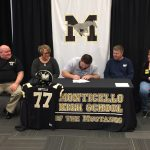Haislip Signs to Play College Football
