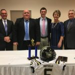 Jarrell Honored by Falcon Club