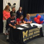 Haley Brown signs with Shenandoah University