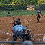 Monticello High School Varsity Softball falls to Powhatan High School 12-5