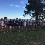 Monticello High School Girls Varsity Cross Country finishes 4th place