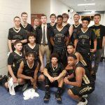 Boys Varsity Basketball beats William Monroe 52 – 41