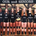 Varsity Volleyball - 2018 Senior Night