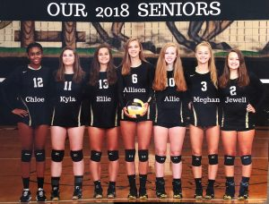 Varsity Volleyball – 2018 Senior Night