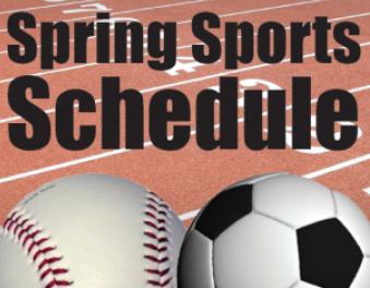 Spring Sports Schedules – 2019