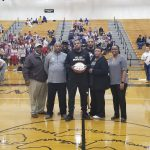 Mosley recognized as Mustangs career scoring leader