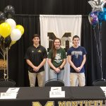 Monticello Celebrates College Commitments For Three Students