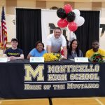 Four Monticello Student-Athletes Celebrate Collegiate Signings