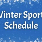 Winter Sports Schedules – 2019-20