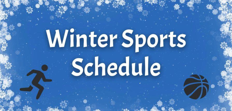 Winter Sports Schedules – 2019-20