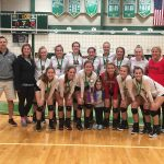 Varsity Volleyball beats Prairie Heights for Bremen Touney Championship!