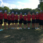 Girls Varsity Golf finishes 1st place at Harrison Invitaional